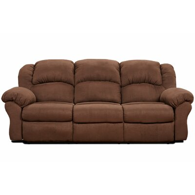 Kishmar Traditional Reclining Sofa Type: Power