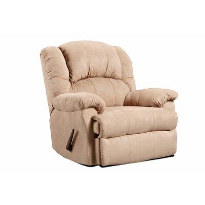 Lizabelle Chaise Rocker Recliner Upholstery: Sensations Camel