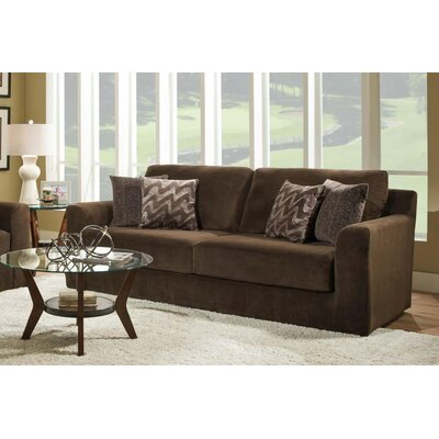 Rockleigh Dynasty Chocolate Sofa