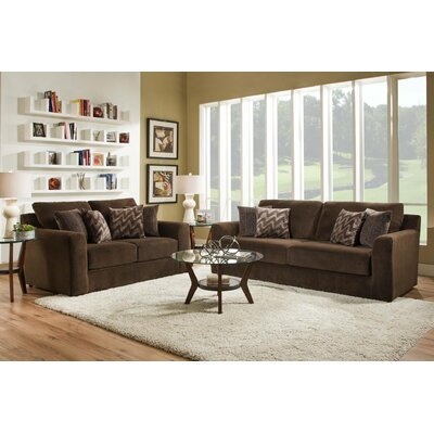 Rockleigh Dynasty Chocolate Living Room Collection