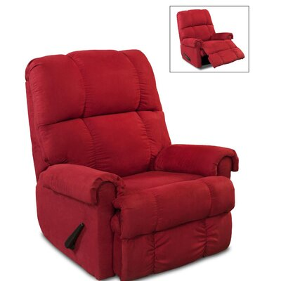 Leadbetter Manual Recliner Upholstery: Cardinal