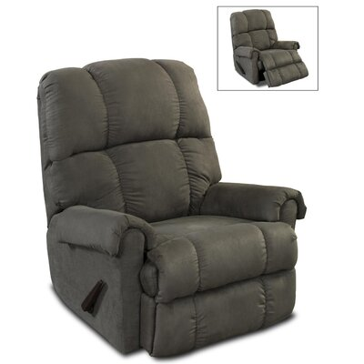 Leadbetter Manual Recliner Upholstery: Graphite