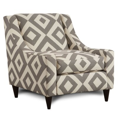 Keown Geometric Armchair