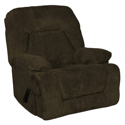 Brando Manual Rocker Recliner Upholstery: Cocoa