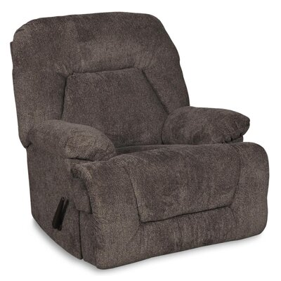 Brando Manual Rocker Recliner Upholstery: Pewter