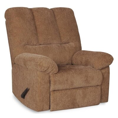 Brando Manual Swivel Recliner Upholstery: Olive