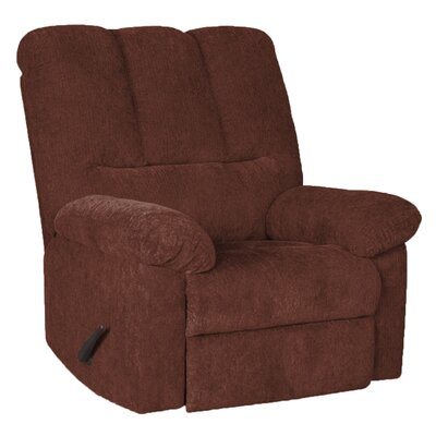 Brando Manual Swivel Recliner Upholstery: Wine
