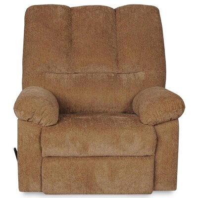 Valentine Manual Swivel Recliner Upholstery: Olive
