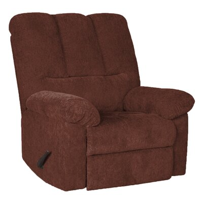 Valentine Manual Swivel Recliner Upholstery: Wine