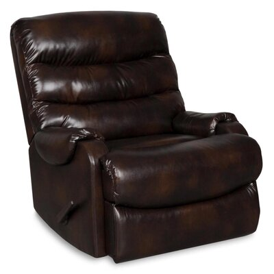 Storm Rocker Recliner with Pillow Top Arms