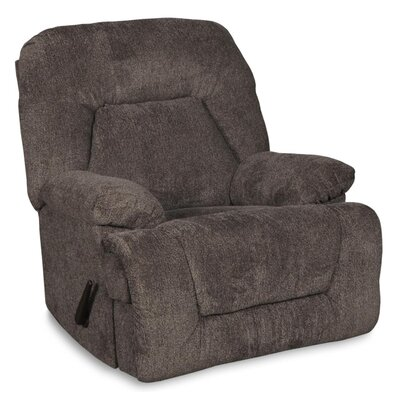 Storm Manual Rocker Recliner Upholstery: Pewter