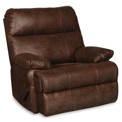 Storm Solid Rocker Recliner with Padded Arms