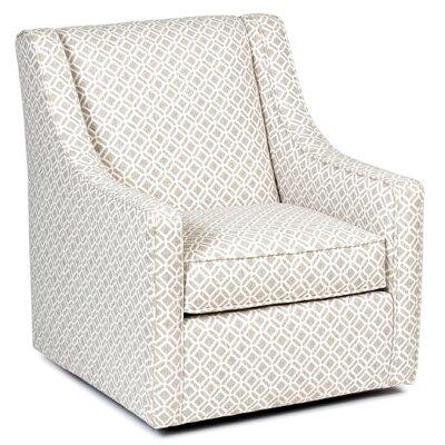 Adriel Linen Swivel Armchair