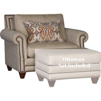 Walpole Chair and Half Upholstery: Runaround Beige