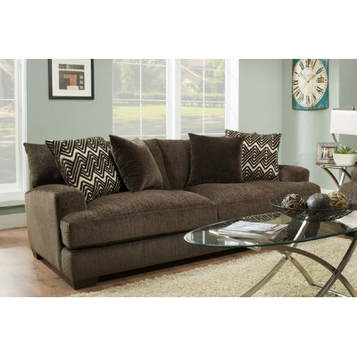 Stoddard Sofa Upholstery: Ultimate Chocolate