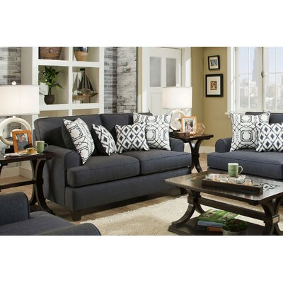 Chadwick Loveseat Upholstery: Wicked Navy