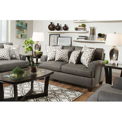 Chadwick Loveseat Upholstery: Wicked Charcoal