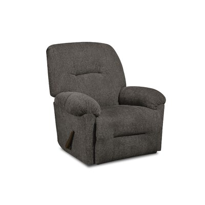 Stovall Manual Rocker Recliner Upholstery: Perth Smoke