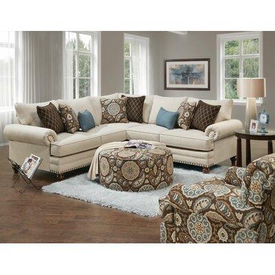 Sherrard Sectional Upholstery: Anna White Linen