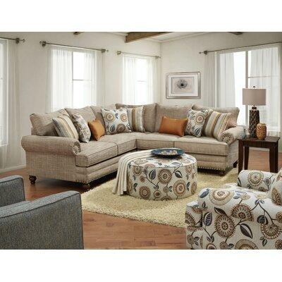 Sherrard Sectional Upholstery: Botega Oatmeal