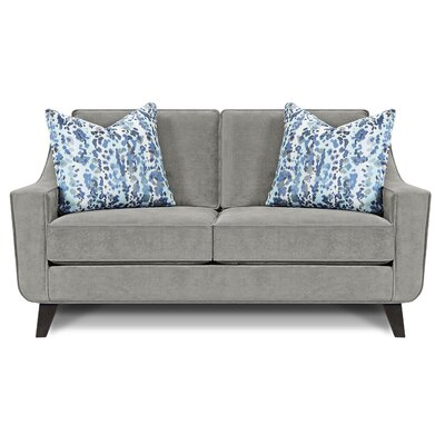 Kennamer Loveseat Upholstery: Bella Dove