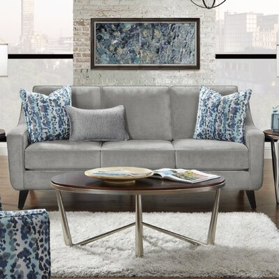 Kennamer Sofa Upholstery: Bella Dove