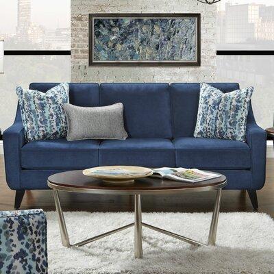 Kennamer Sofa Upholstery: Bella Ink