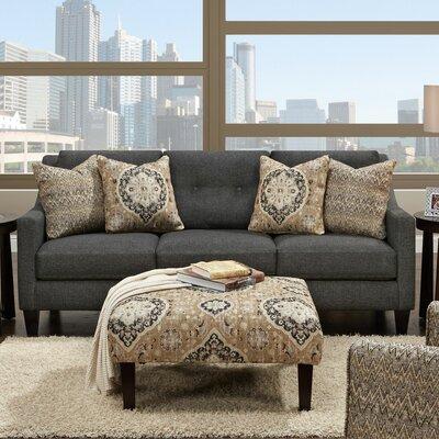 Keown Sofa Upholstery: Ocala Slate