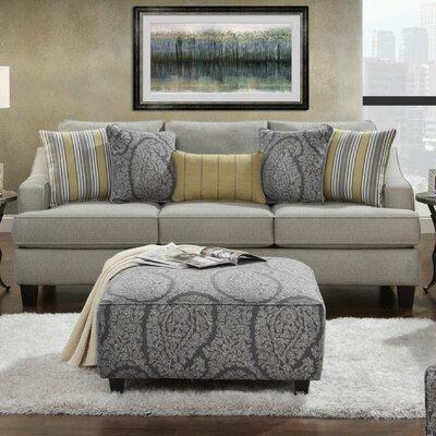 Cargin Sofa Upholstery: Chalet Platinum