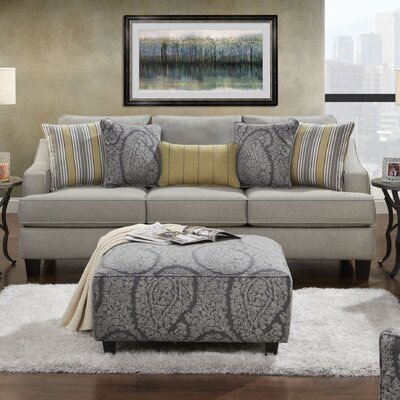 Cargin Sleeper Sofa Upholstery: Chalet Platinum
