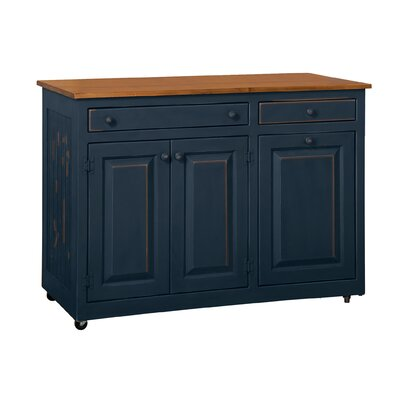 Elize Kitchen Island Base Finish: Old Navy