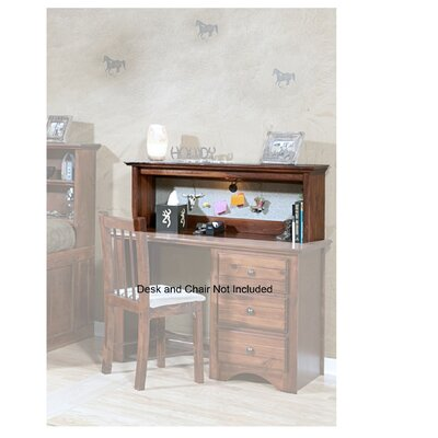 Valene 16 H x 44 W Desk Hutch Finish: Cocoa Breeze