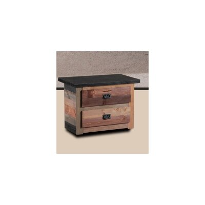 Cilley 2 Drawer Nightstand