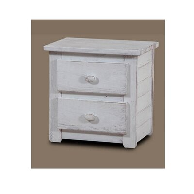 Chestertown 2 Drawer Nightstand Color: White