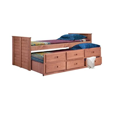 Cirillo Twin Mates & Captains Bed with Trundle