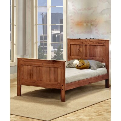 Chiang Mates Panel Bed Size: Full
