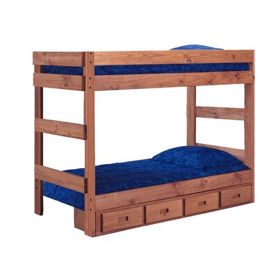 Cipolla One Piece Bunk Bed Size: Twin