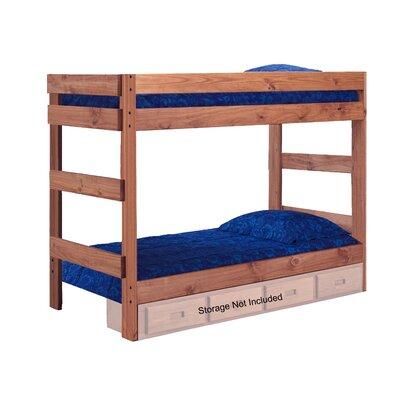 Chmura One Piece Bunk Bed with Storage Size: Twin