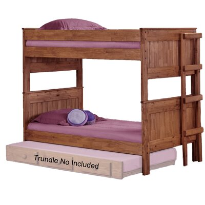 Chavez Stackable Twin Over Twin Bunk Bed