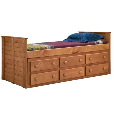Chea Twin Mates & Captains Bed with Storage