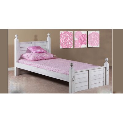 Christenson Panel Post Mates Four Poster Bed Size: Twin