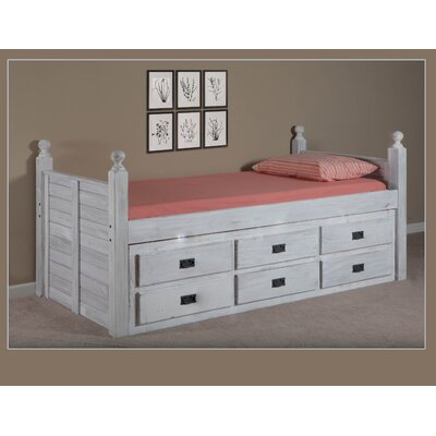Choi Panel Mates & Captains Bed with Drawers Size: Full