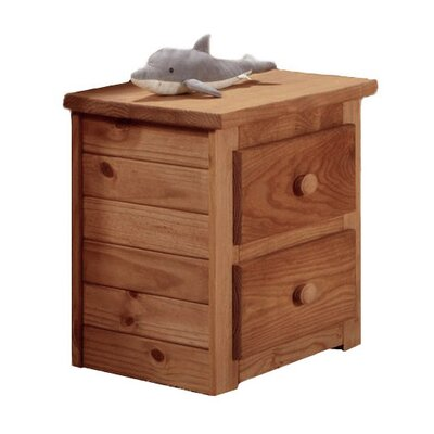 Cheng 2 Drawer Nightstand