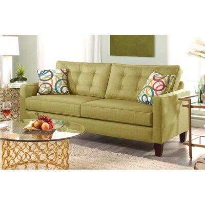 Seavey Sofa Upholstery: Green