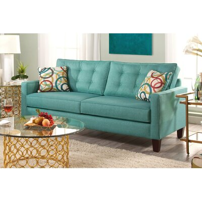Seavey Sofa Upholstery: Blue