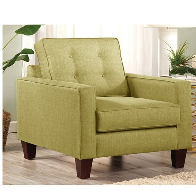 Seavey Armchair Upholstery: Green