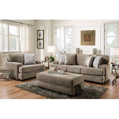 Malgorzata Standard Sofa Upholstery: Fusion Platinum