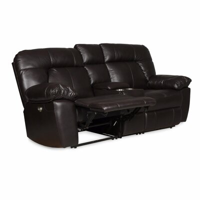 Zhenyu Reclining Sofa with Console