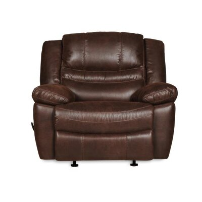 Du Contemporary Fixed Manual Recliner Motion Type: Rocker Recliner