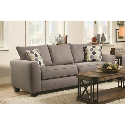 Cadia Contemporary Queen Sleeper Standard Sofa Upholstery: Heritage Gray